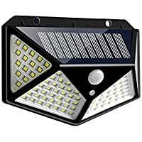 MR STORES Solar Lights for Garden 100 LED Motion Sensor Security Lamp for Home and Garden,Outdoors   Bright Solar…