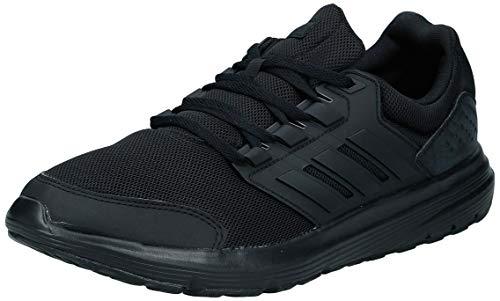 adidas Galaxy 4, Zapatillas de Entrenamiento para Hombre, Negro (Core Black/Core Black/Footwear White 0), 43 1/3 EU