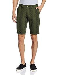 The Indian Garage Co. Men's Cotton Shorts - B01HZMIXIG