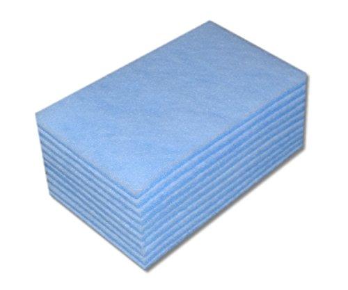 10 Filtermatten G4 Blau - Weiß für Maico WRG 300/400 EC. Typ WRF 300/400 EC ohne bypass, Lüftung Luftfilter Filter KWL