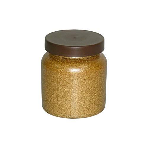 1 Tiegel Steinzeug Keramiktopf 270 ml Senftopf Steingut Honigtopf
