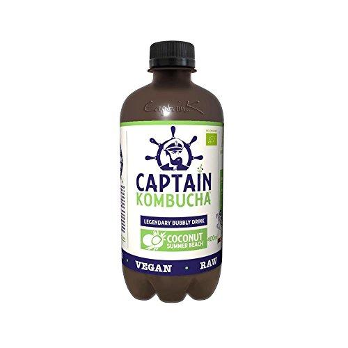 Captain Kombucha - Coconut 400ml x 8