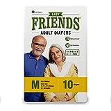 Friends Adult Diaper (Easy) - Medium (Pack of 3)