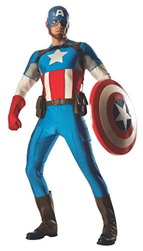 Rubie' s da uomo ufficiale Marvel Captain America Grand Heritage Deluxe, costume da adulto–Taglia standard