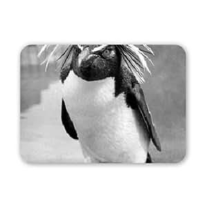 Gold crested rock hopper penguin - Mouse Mat Art247 Highest Quality Natural Rubber Mouse Mats - Mouse Mat