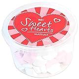 Becky's - Marshmallow a forma di cuore, colore: rosa e bianco, 1 x 325 g