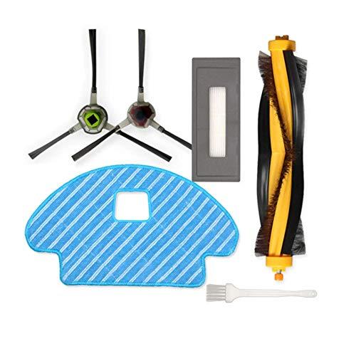 Sweet D Kit di Ricambio per Ecovacs Deebot Ozmo 930 Accessori per Robotics DG3G-KTA Buddy, 1 Spazzola Principale, 2 spazzole...