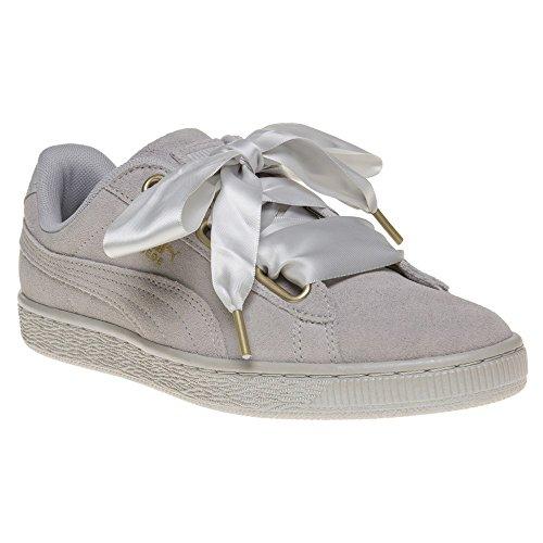 chaussures-puma-femme-suede-heart-satin-gris-gris-taille-39-eu