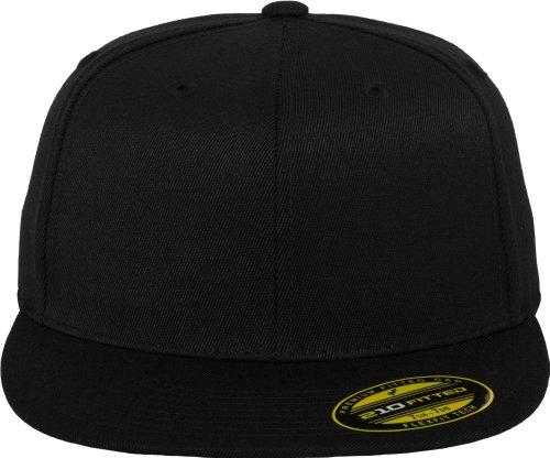 Flexfit Premium 210 Fitted Cap in black | Größe: L/XL 210 Fitted Cap