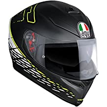 AGV Casco Moto K-5 S E2205 Top plk, Thorn 46 Matt Black/