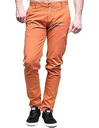 Kenzarro - Jeans Kd67003 Chino Orange