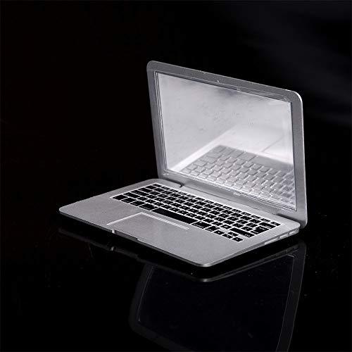 XLLF Hochwertige Mini mac kosmetikspiegel für Apple Notebook MacBook air Apple Computer tragbare kreative Spiegel (Color : White) Apple Spiegel
