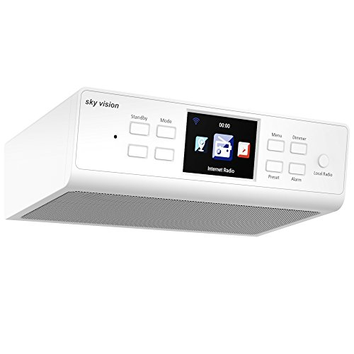 Sky Vision Vision IR 66 W Wireless Internet Radio Blanca