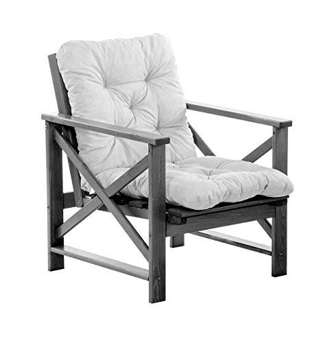 Ambientehome Sessel inklusive Auflage mit Relaxfunktion! Passend zur Eckgruppe, grau