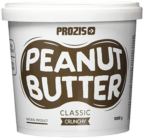 Prozis Klassische Erdnussbutter 1000 g Crunchy