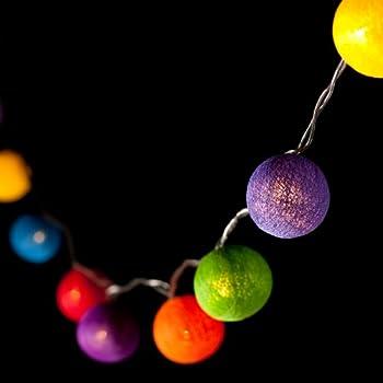 ball fairy lights. blaze on® ambient ball fairy lights rainbow 30 led - free 1 year guarantee \u0026 i