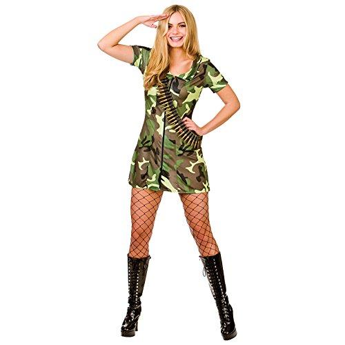 Sexy Army Girl **NEW** (Combat Army Girl Kostüme)