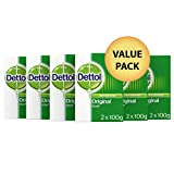 6 x Dettol Orginal Soap Twin Pack 2 x 100g