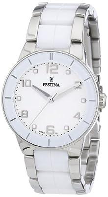 Reloj Festina F16531/1 de cuarzo para mujer con correa de acero inoxidable, color multicolor de Festina