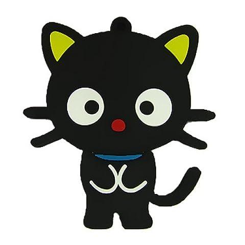 818-Shop no10100010064 Hi-Speed 2.0 USB flash drive 64GB cat hangover black