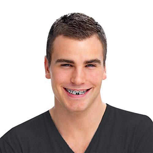 Hosenträger Kostüm Zähne - Allegorly 8 Paare Anzug Vampirzähne Reißzähne
