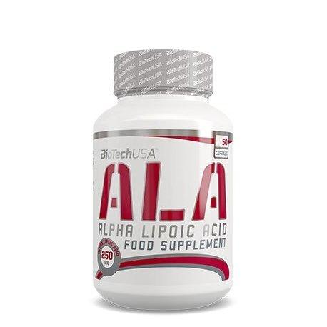 Biotech USA Ala Alpha Lipoic Acid Vitaminas y Minerales - 500 gr