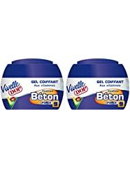 Vivelle Dop - Gel Coiffant aux Vitamines Fixation Béton Force 9 Pour Homme - 150 ml - Lot de 2