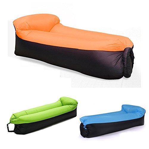 Unbekannt Aufblasbares Sofa,NewMum Wasserdichtes Aufblasbarer Sitzsack mit Integriertem Kissen,...