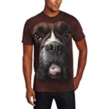 The Mountain Unisex Erwachsen Gr. S Boxer Hundegesicht T Shirt