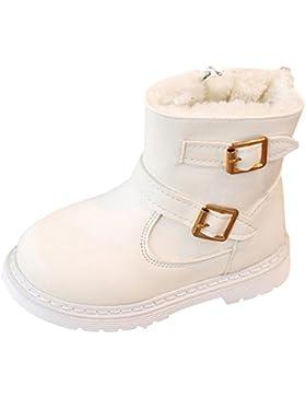 Warm und Baumwolle, um Martin Stiefel zu helfen Kinder Mode Mädchen Martin Sneaker Winter Dick Schnee Baby Casual...