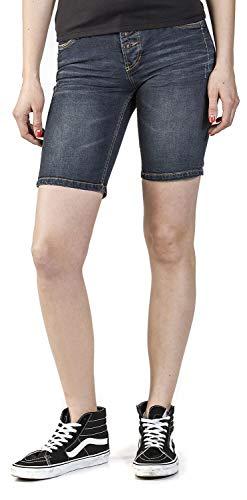 Mit Pocket Shorts Jeans Damen Bermuda Sublevel Aufschlag5 Nwn08mOv