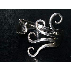 Armspange aus Silbergabel