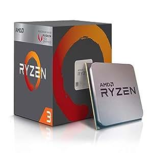 AMD Ryzen 3 2200G avec Carte Graphique Radeon RX Vega 8, S AM4, Quad Core, 4 Fils, 3, 5 GHz, 3, 7 GHz Turbo, 4 Mo, 65 W, CPU