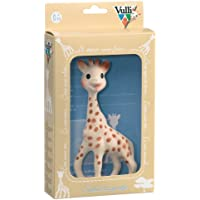 Vulli 616324 'Sophie la Girafe' - Juguete con caja regalo, 100% caucho natural