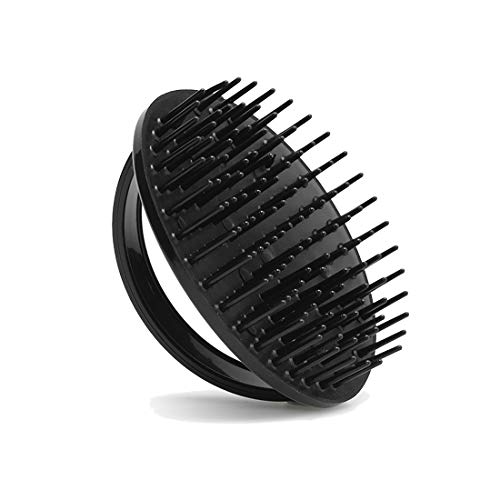 Denman Shampoo- und Teppichbürste D6, aus hochwertigem Kunststoff, schwarz - Kunststoff-shampoo Bürste