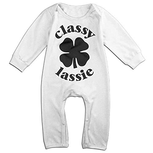 St Patricks Day Baby Boy Outfit - TOPDIY Classy Lassie St. Patrick's Day