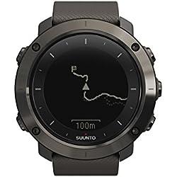 Suunto, TRAVERSE, Reloj GPS Outdoor para Excursionismo y Senderismo, Hasta 100 Hrs. de batería, Sumergible, Gris, SS022226000