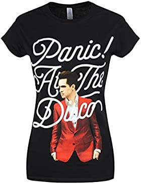 Plastic Head Panic! At The Disco Brendon Urie  GTS-T-shirt  Donna