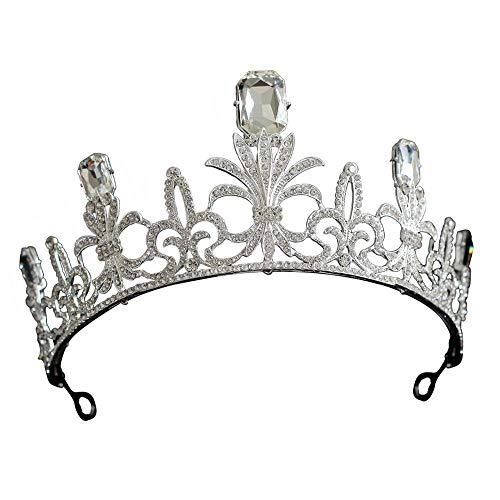 YNYA Diademe Braut Kronenkönigin Prinzessin Haarband Göttin Geburtstag Krone Krone Geburtstag Accessoires Hochzeitsbankett Party Geschenke