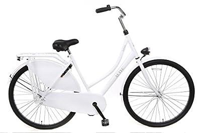 """28"""" 28 Zoll Damen Fahrrad Holland City Fahrrad Rad Hollandrad Damenfahrrad Cityrad Damenrad Roma Weiss"""