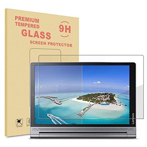 Infiland Lenovo Yoga Tab 3 Plus/Lenovo Yoga Tablet 3 10 Pro Bildschirmschutz, Glass Folie Schutzfolie Panzerfolie Bildschirmschutzfolie(Tempered Glass)