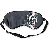 Eye Mask Eyeshade Music Notes Element Sleeping Mask Blindfold Eyepatch Adjustable Head Strap preisvergleich bei billige-tabletten.eu