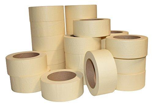 JAK Nastro adesivo industriale per uso generico/pittura, confezione da 24 – 5,1 cm x 22,9 m per rotolo. 48 mm x 55 m.