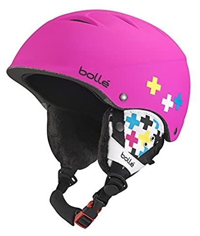 Bollé B-Free Casque Soft Pink Cross 53-57 cm - Sci Caschi
