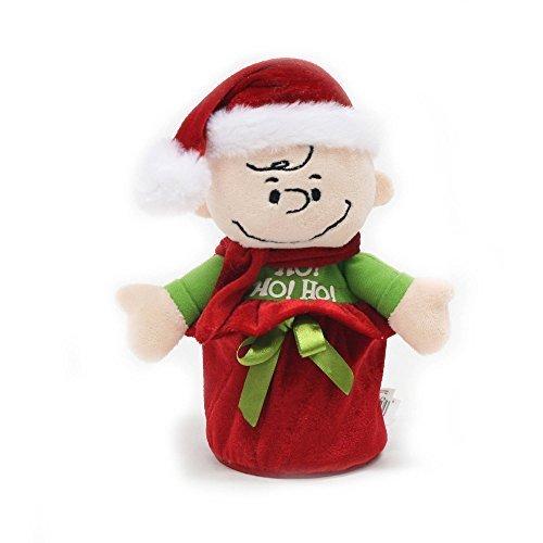 Holiday Time Christmas Decor Push N Pop Charlie Brown - 8