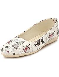 abcaba00eb868d AlexaStar Women Flat Belly Shoes Comfortable Slip On Pointed Toe Girls  Ballet Flats Bellies