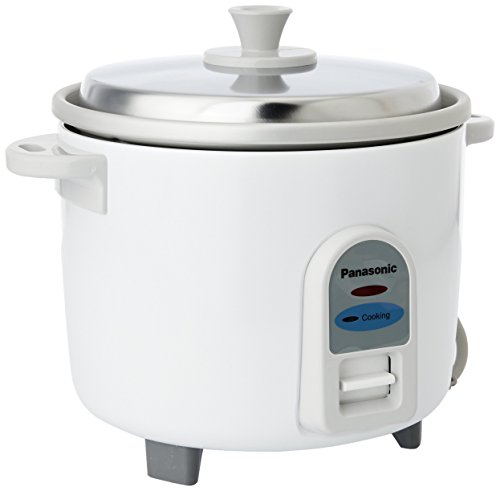 Panasonic SR-WA18 E 4.4-Litre Automatic Rice Cooker (White)