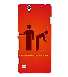 PRINTSHOPPII FUNNY Back Case Cover for Sony Xperia C4 Dual E5333 E5343 E5363::Sony Xperia C4 E5303 E5306 E5353