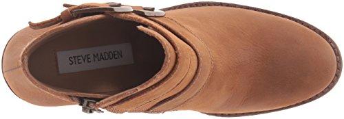 Steve Madden Women's Trevur Ankle Bootie Cognac