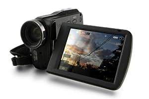 Praktica DVC 5.7 Full HD Camcorder (7,6 cm (3 Zoll) TFT Touchscreen , 5-fach opt. Zoom, 5 Megapixels Foto-Funktion, HDMI)